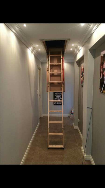Home Attic Storage Attic Ladder Ladder