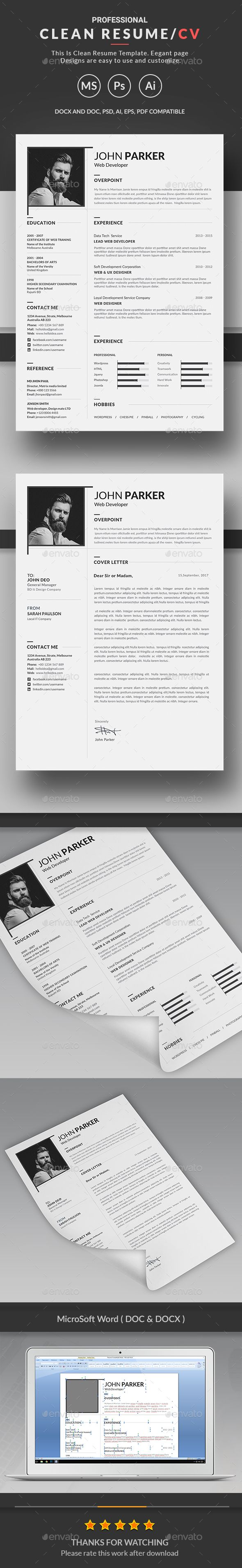 Resume | Cv | Pinterest | Currículum, Habilidades y Profesional