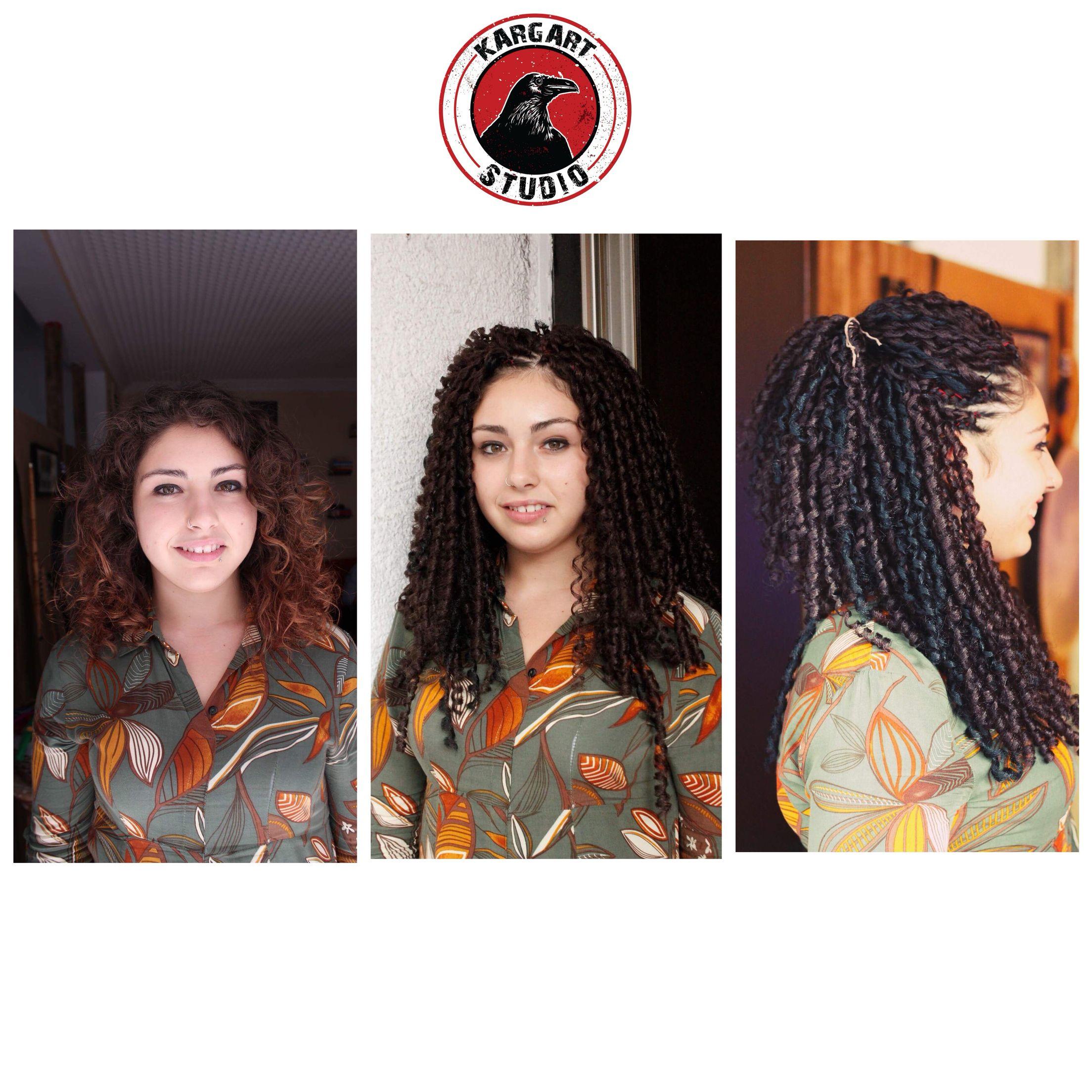 En Dalgalisindan Afro Kivircik Model Sizlerle