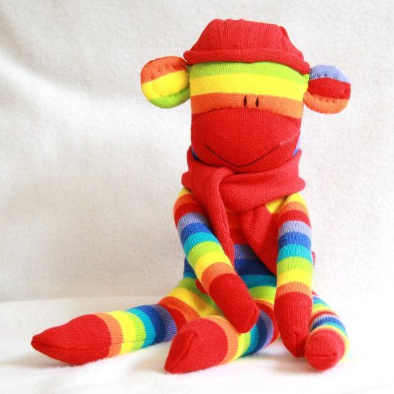 Make your own sock monkey Sewing craft kit adult//child Creative UK SELLER