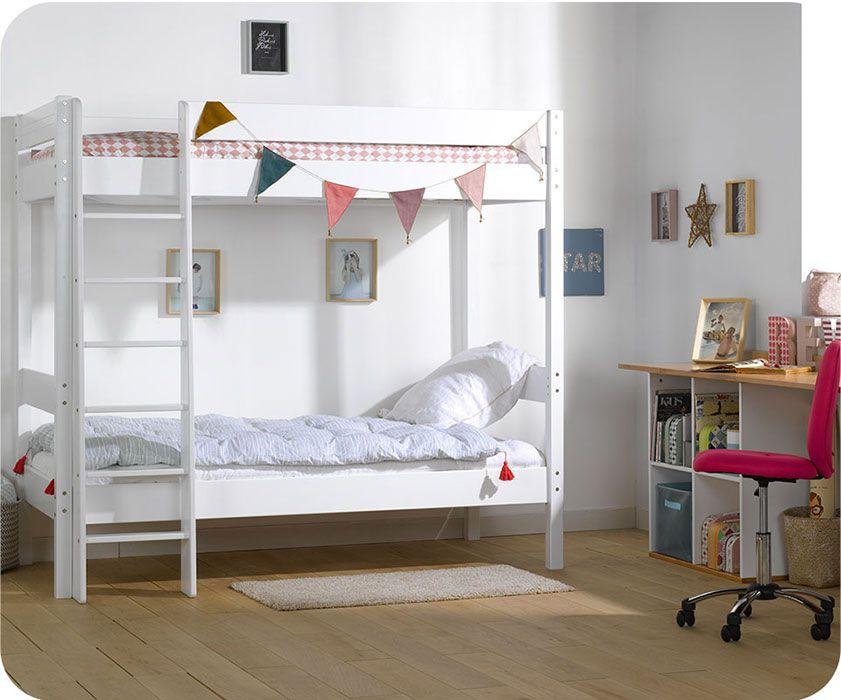 Hausbett Etagenbett : Etagenbett pino stockbett hochbett kinderbett weiß kaufen bei