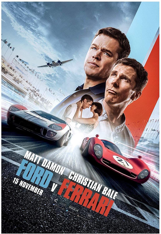 Ford V Ferrari 2019 In 2020 Ferrari Poster Christian Bale New Movie Posters