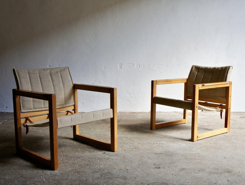 Fantastic Pair Of Diana Safari Chairs By Karin Mobring 99667 In Uwap Interior Chair Design Uwaporg