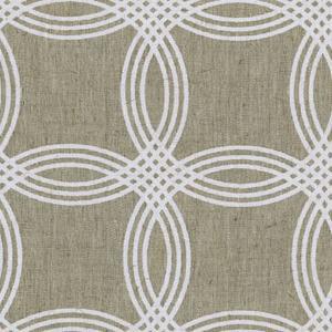 Global Weave Textiles - Block Printed Circles - printed in Jaipur, India.