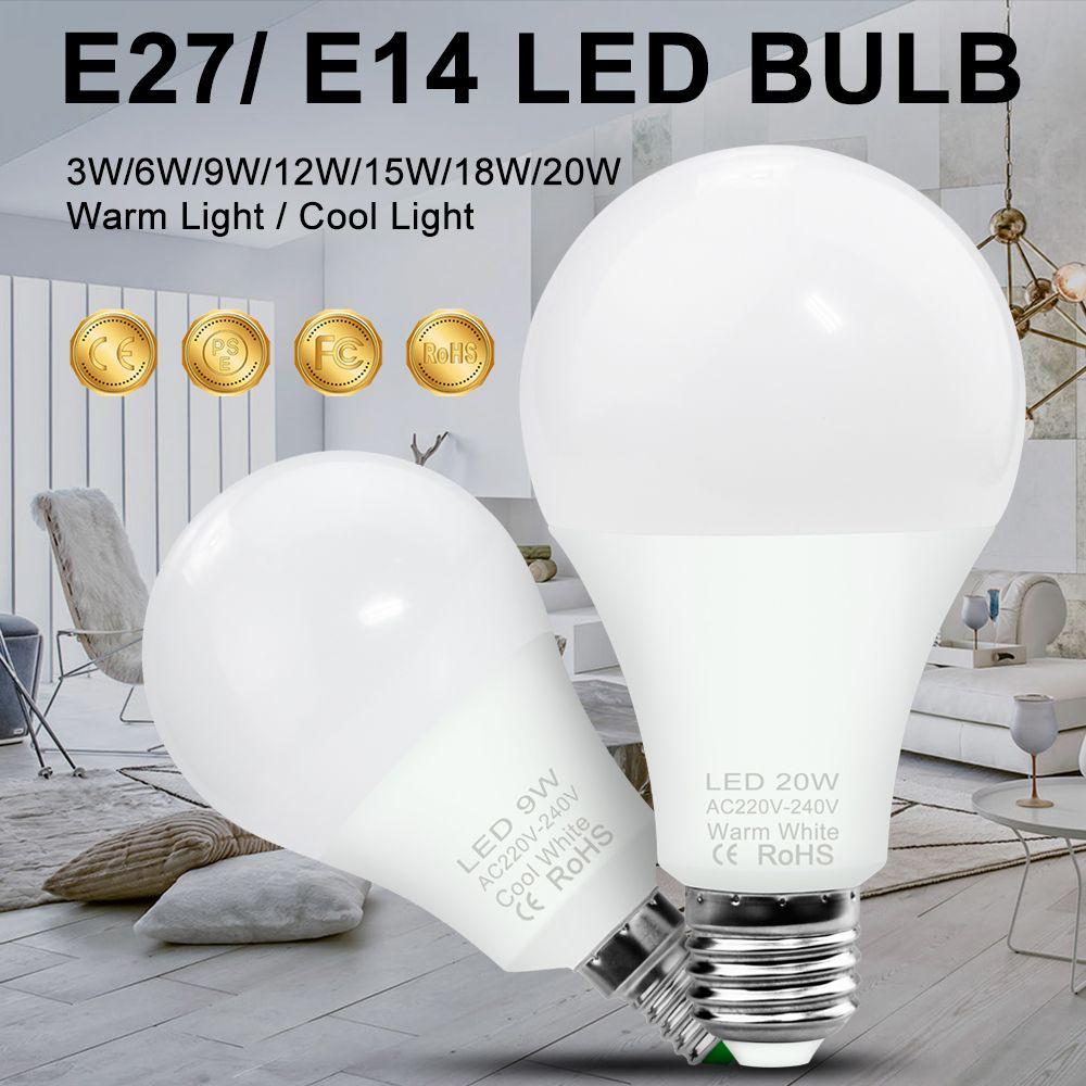 Light Bulb Led Lampadine Led E27 Halogen Led Lamp E14 Ac 220v 3w 6w 9w 12w 15w 18w 20w Led Bombilla Ampoule Home Lighting 240v Buy Led Bulb Light Bulb Bulb