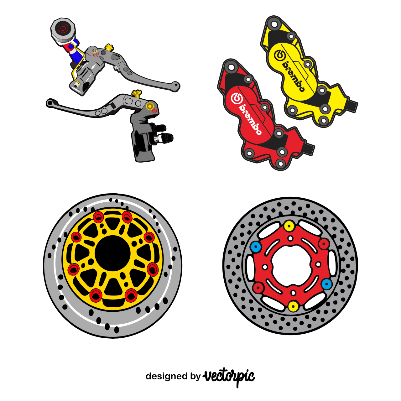 sparepart racing thailook design free vector Seni