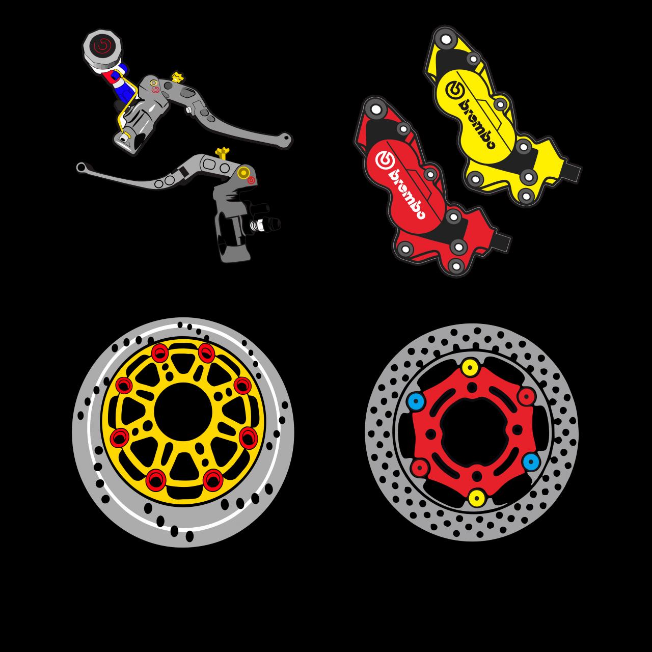 Sparepart racing thailook design free vector sticker