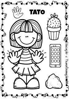 Os Cinco Sentidos Corpo Humano Para Criancas Atividades Para