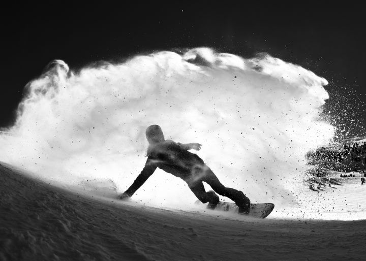 Shaun White comin in hot. Photo: Gabe L'Heureux