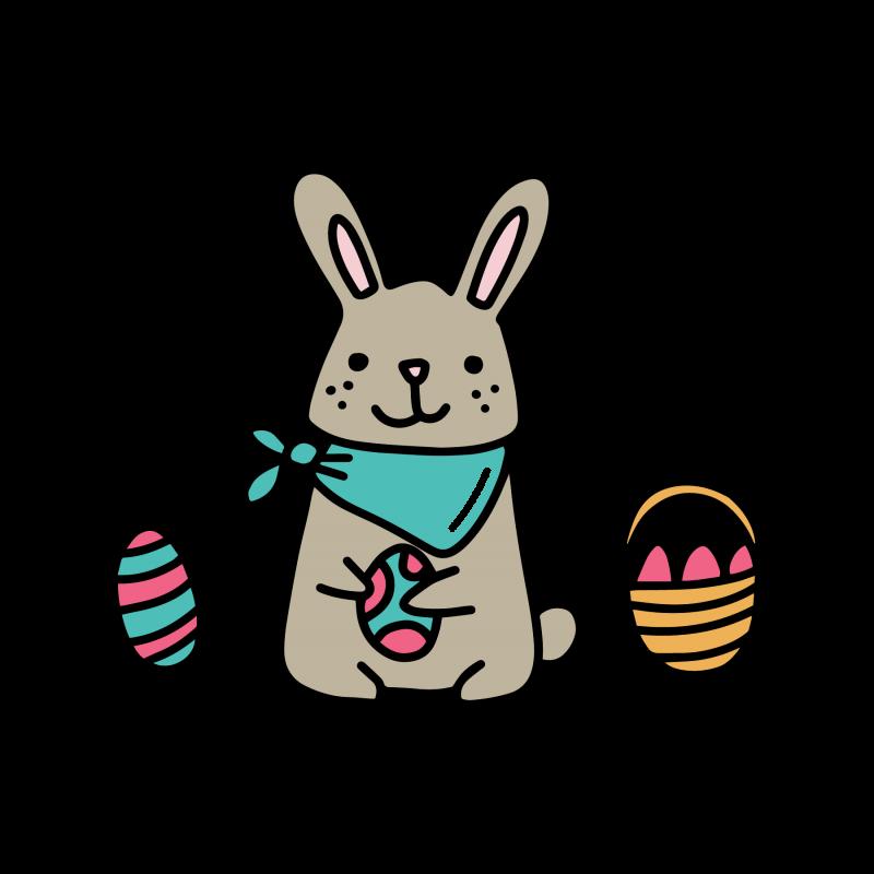 Download Easter rabbit 5865 free svg svg files for cricut ...