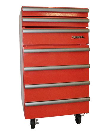 Another great find on #zulily! Red Portable Garage Toolbox ...