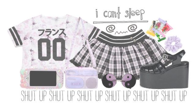 """""""~ can't sleep ~"""" by freezespell ❤ liked on Polyvore featuring UNIF"""