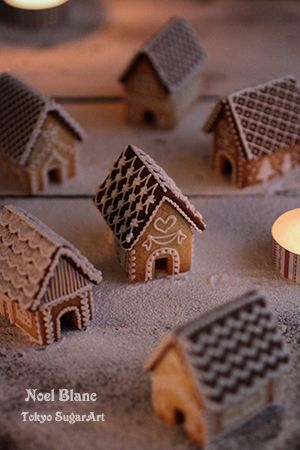 I want to make a gingerbread christmas town, and I don't care how grandma that sounds! #gingerbreadhouseideas