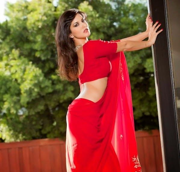 Sunny Leone In Saree Collections,Hot Wallpaper,Sexy -7694