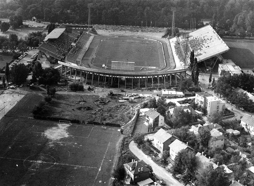 Zagreb 1960 Tih Maksimir Stadion Zagreb Croatia Field
