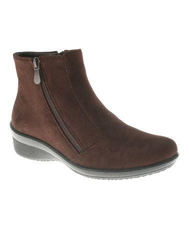 Take a look at this Brown Stepwise Boot by Patrizia by Spring Step on zulily