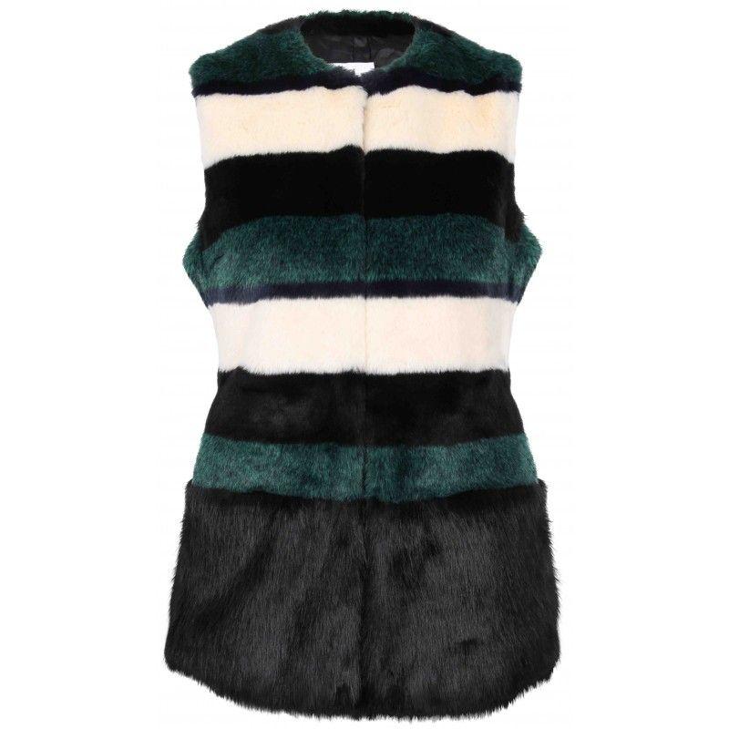 DE\'HART De\'Hart Pelz-Weste SmileDe\'Hart fake fur vest shop online ...