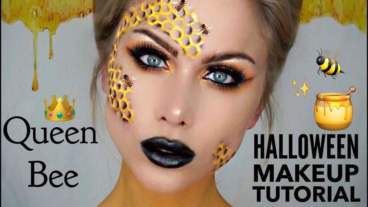 Photo of queen bee makeup tutorial | halloween makeup | BeeisforBeeauty