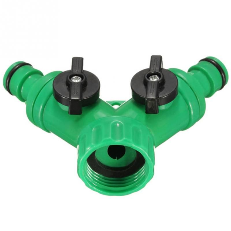 1 2 Inch Garden Irrigation 2 Way Splitter Connector Water Hose Quick Adaptor Garden Accessories Review Garden Irrigation Water Hose Garden Accessories