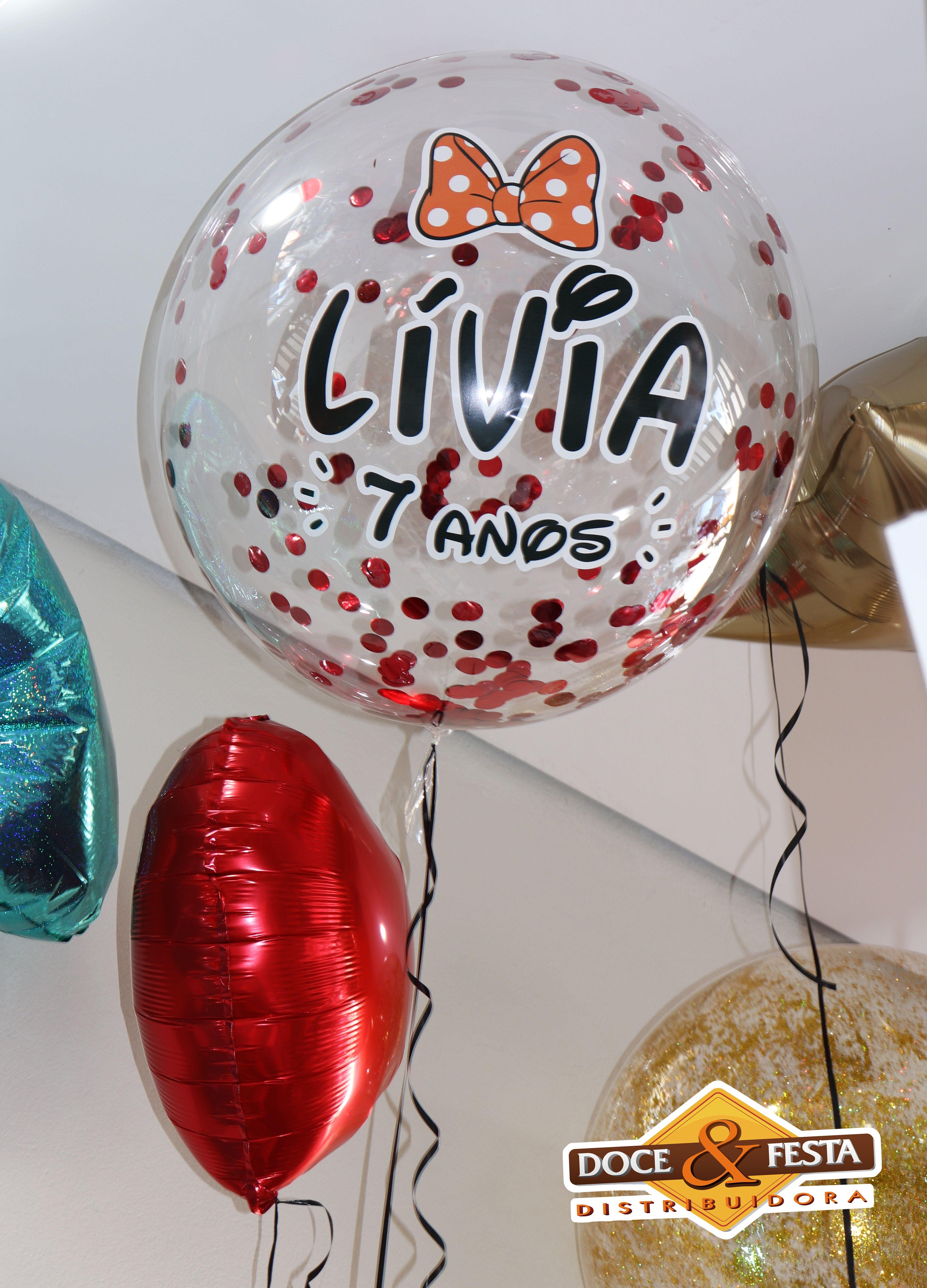 Pin Em Baloes Personalizados