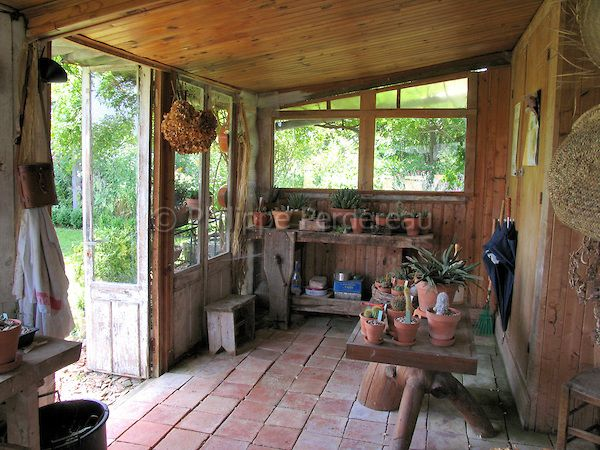 garden shed interior Google Search Potting sheds