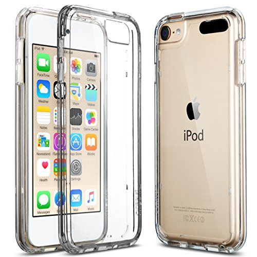 ULAK® Apple iPod Touch 6 Case, iPod Touch 5 Case,[CLEAR ...