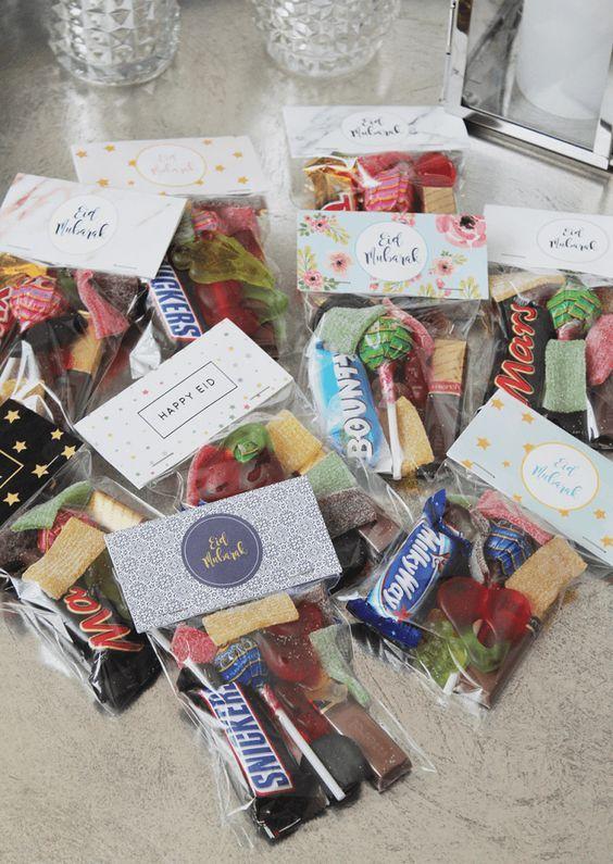 Ramadanrecepten.nl FREEBIE | Eid Goodie Bag Toppers | Ramadanrecepten.nl