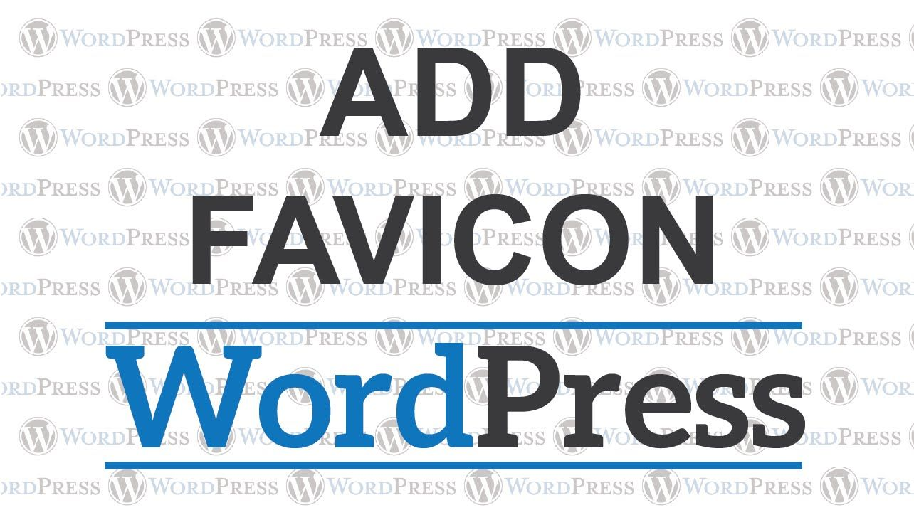 How to add favicon to Wordpress #tutorial #blog #site