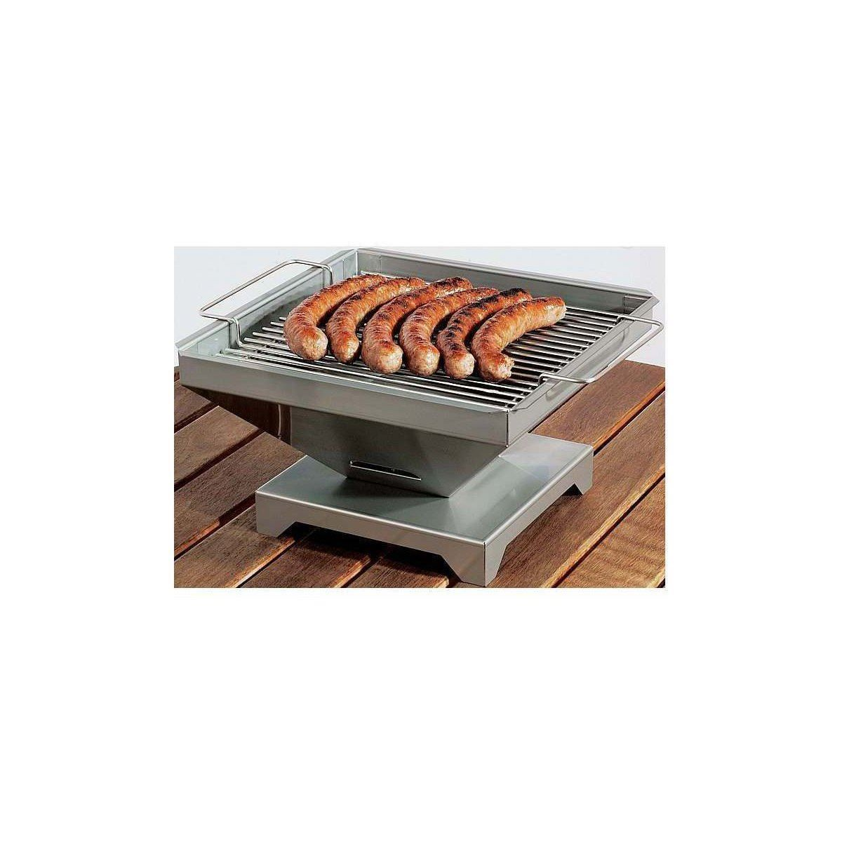 thueros t1 edelstahl tischgrill 30x30cm | barbecue season | barbecue