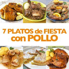 Recetas De Platos De Fiesta Con Pollo Divina Cocina En 2020 Platos De Fiesta Comidas Navideñas Comida