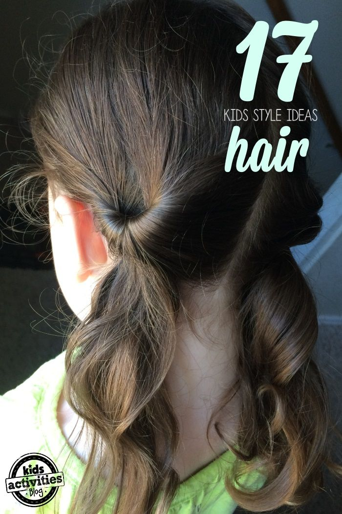 17 Lazy Hair Ideas for Girls #girlhairstyles