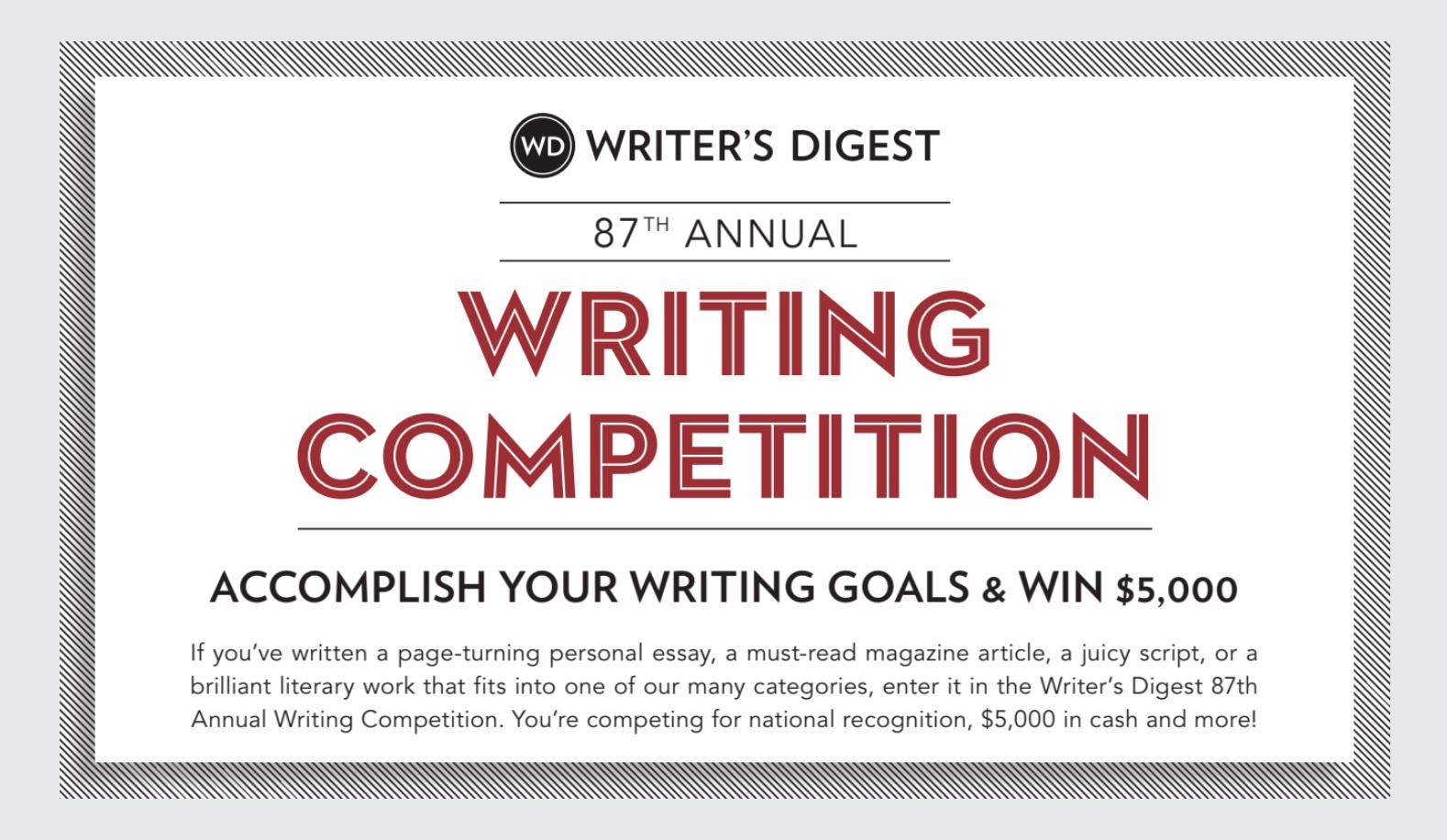 Help writing comps