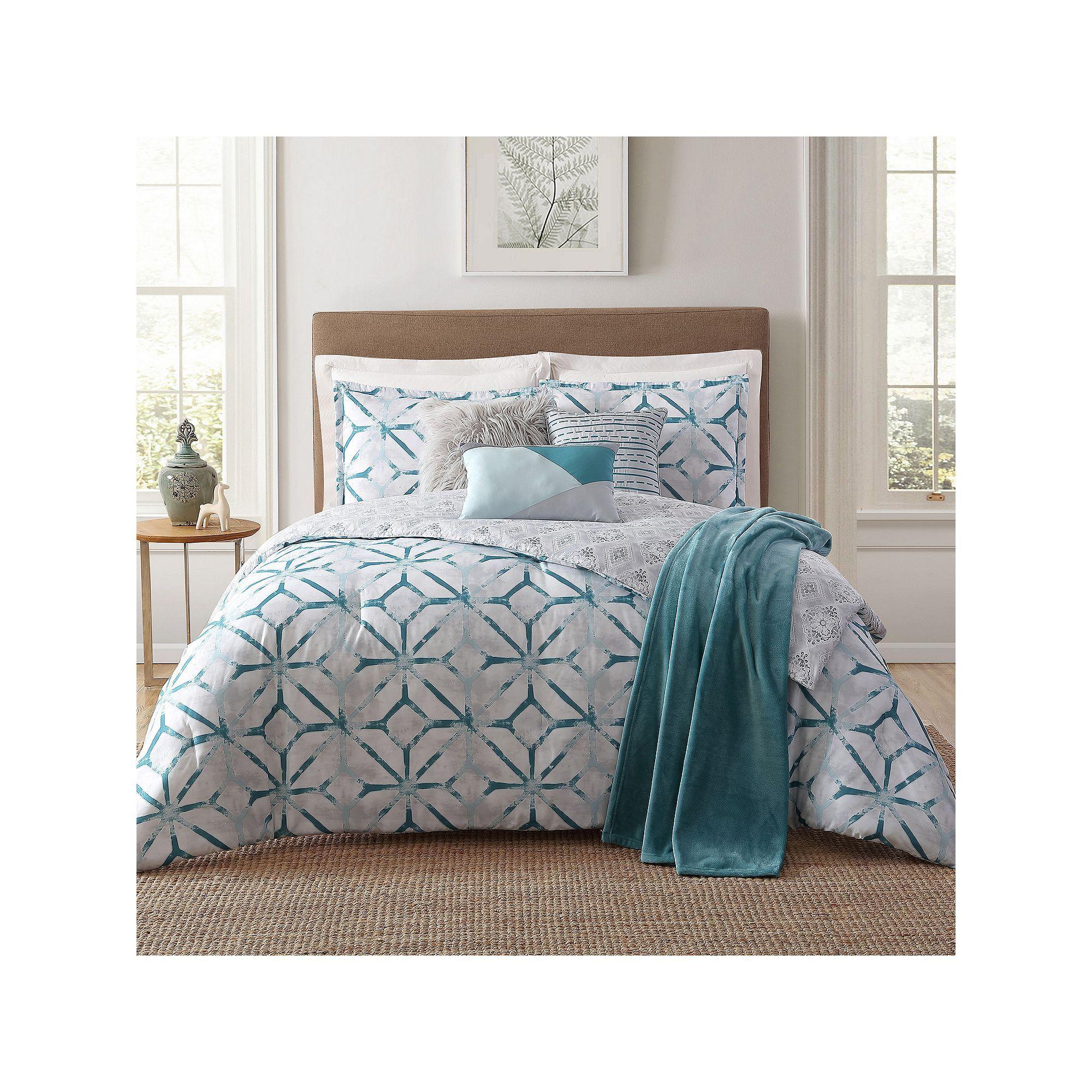 Best Lancaster 7 Piece Comforter Set Comforters Comforter 400 x 300