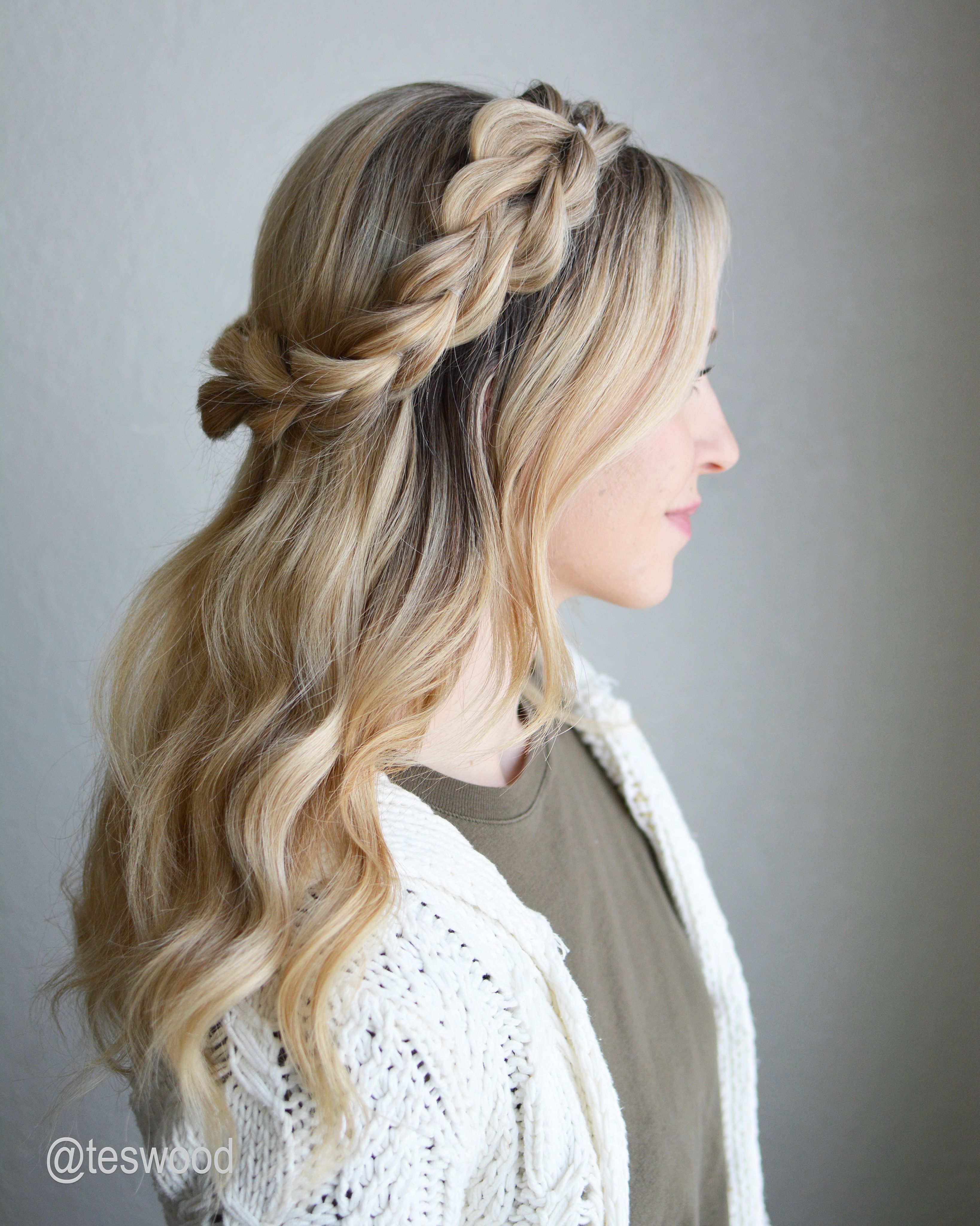 Best Hairstyle For Women Braided Crown Hairstyles Stylish Hair Braided Hairstyles