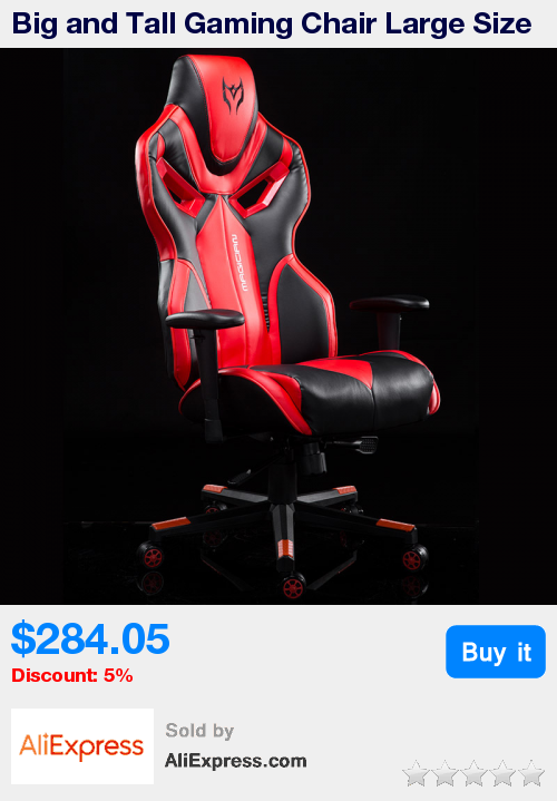Big And Tall Gaming Chair Large Size Racing Chair High Back Ergonomic Computer Chair Leather Swivel Executive Racing Chair Cool Chairs Executive Office Chairs