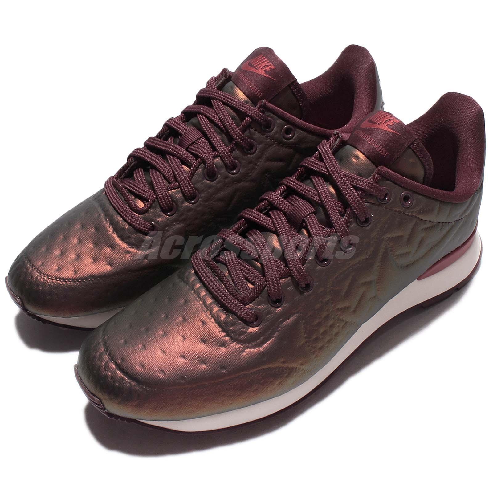 89f2a3819243 Wmns Nike Internationalist Jcrd Wntr Winter Metallic Mahogany Womens  859544-900
