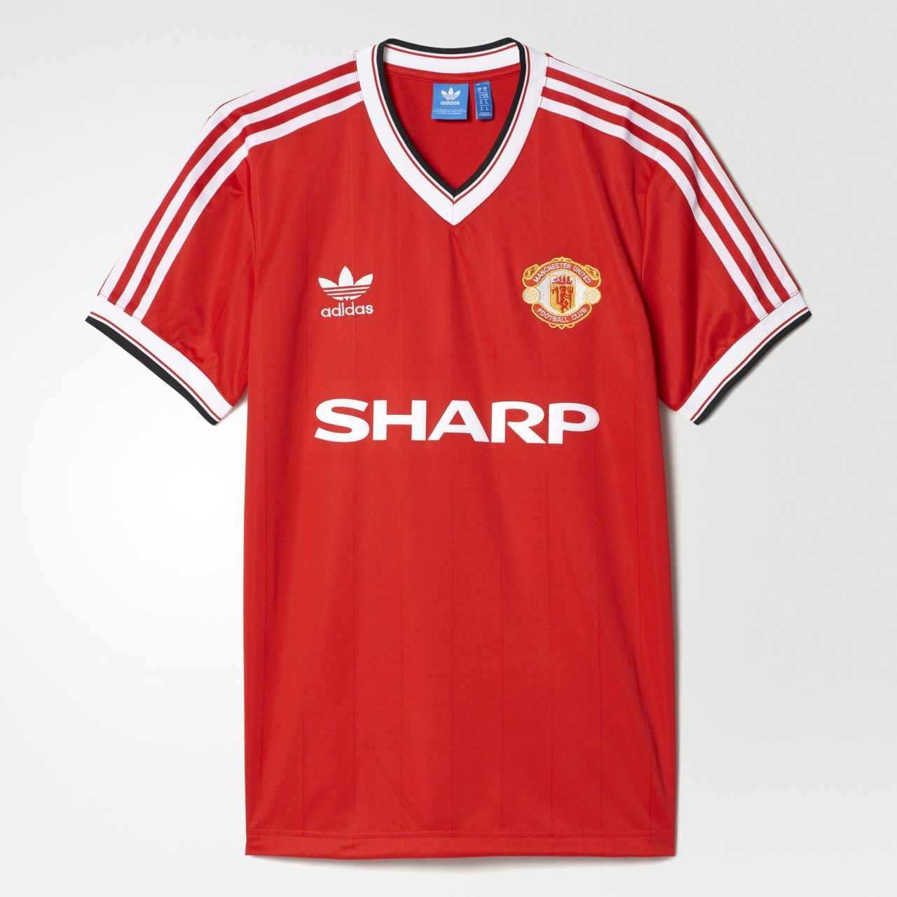 0db94235a Manchester United FC 1984 Adidas Originals Home Jersey