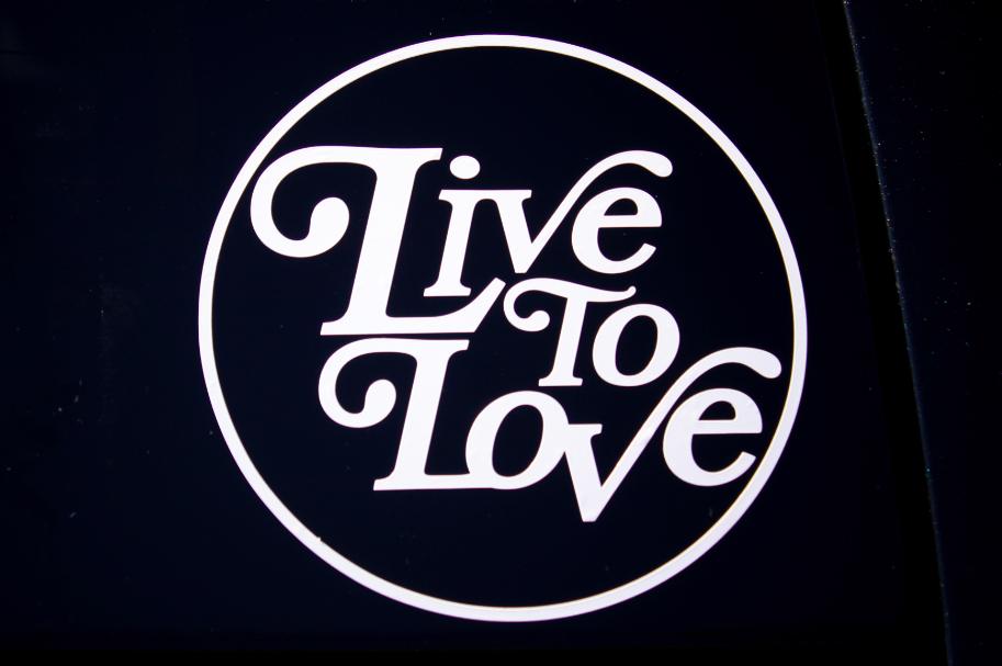 Circle Logo Car Decal Circle logos, Logos, Love logo