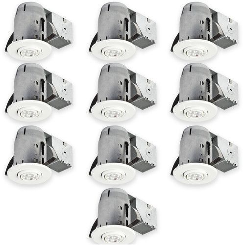 """Found it at Wayfair - Jayson IC Rated 3"""" LED Recessed Lighting Kit $193 4.57"""" H x 6.97"""" W x 4.13"""" D Size"""