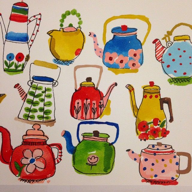 I'm a total tea lover too! #tea #teatime #teapots #scandinaviandesign #stiglindberg