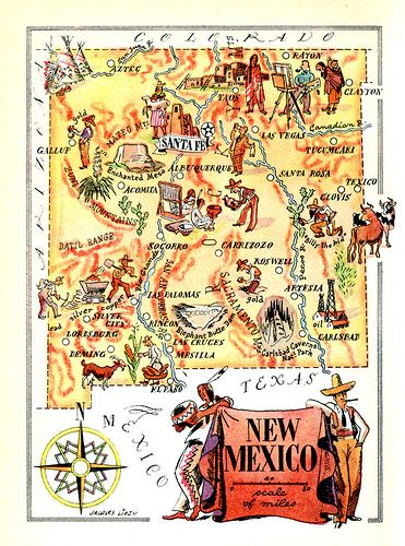 New Mexico On World Map.New Mexico Map Maps Pinterest New Mexico Mexico And Las Cruces