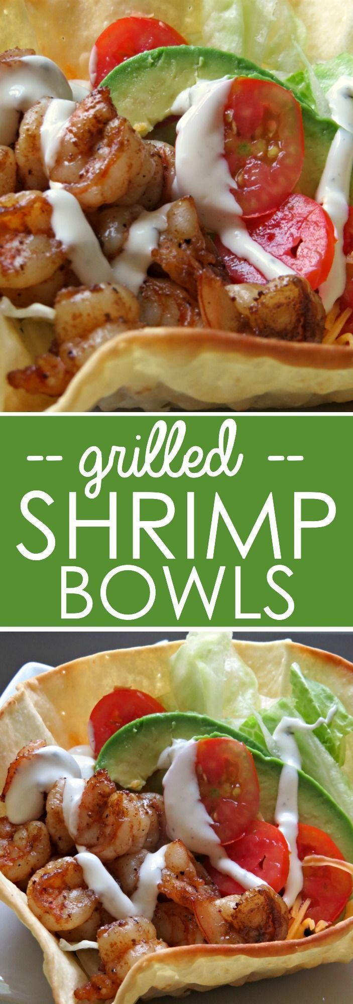 Grilled Shrimp Bowls Recipe - Written Reality