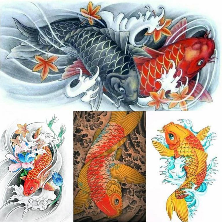 42 Mind Blowing Koi Tattoo Designs Examples: Mind Blowing Japanese Tattoos