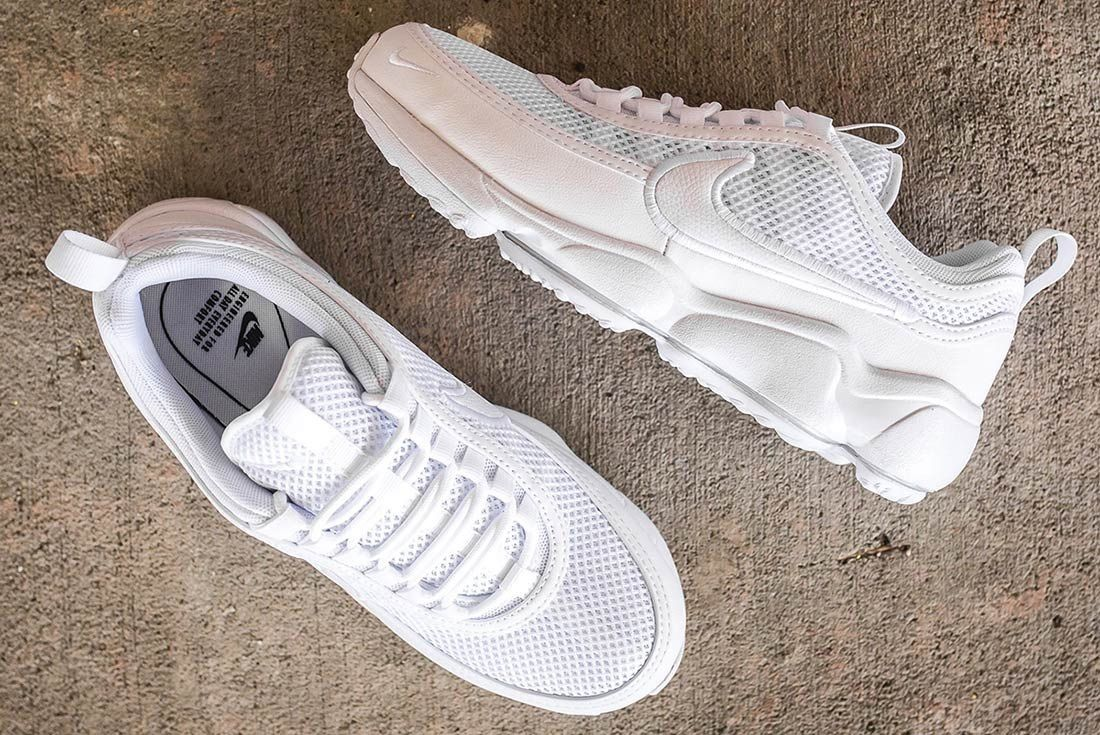Nike Air Zoom Spiridon Ultra: Triple White | Nike zoom