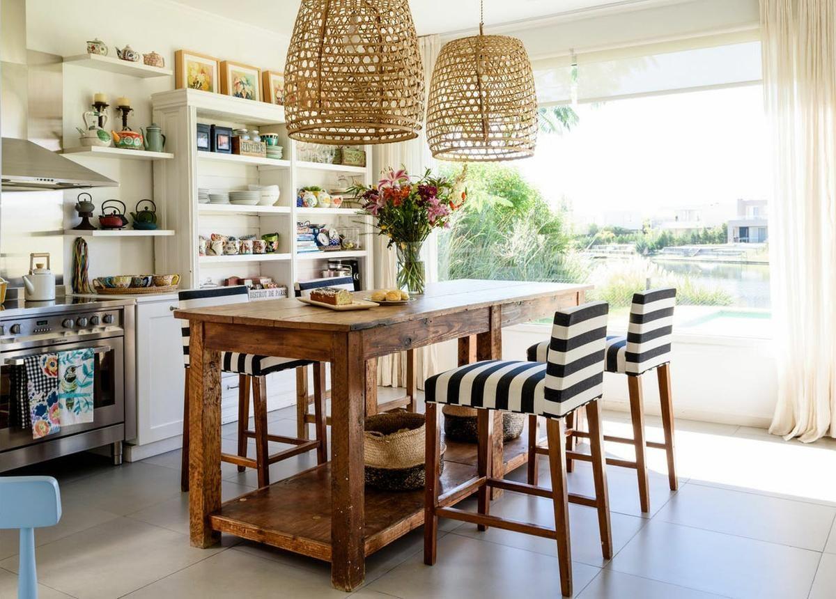 Pin de Gaylyn Lang en hh   Pinterest   Islas de cocina, Casa de ...