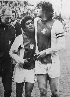Simon Tahamata & Ruud Krol