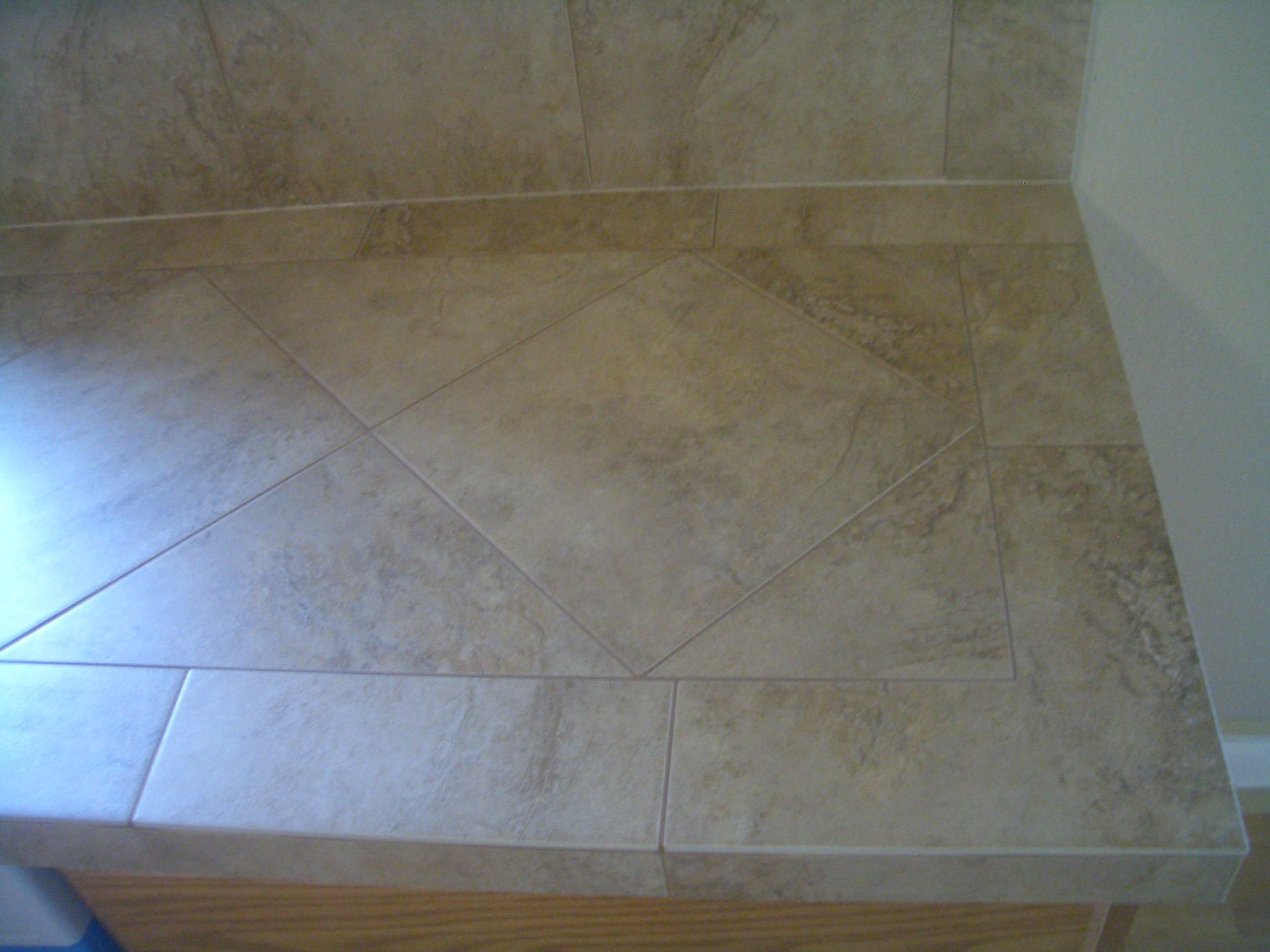 Porcelain Or Ceramic Tile For Kitchen Floor Porcelain Tile Backsplash Gallery Just Finished Up A Ceramic