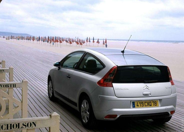 2005 Citron C4 Coupe With Panoramic Sunroof Citron Citroen C4