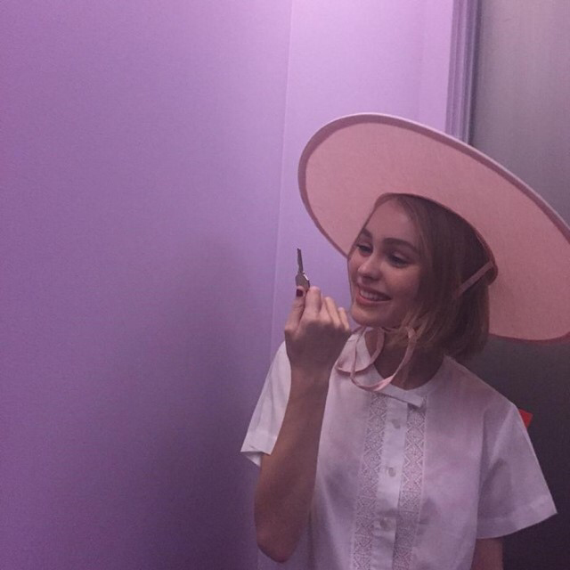 Lily Rose Depp's lost Instagram pictures – gaia