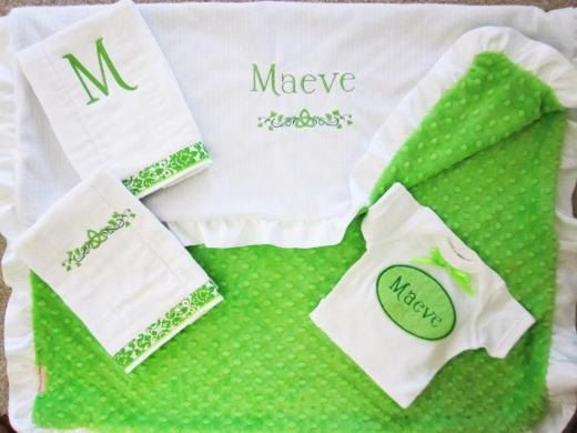 Personalized irish baby blanket minky baby blanketceltic blanket personalized irish baby blanket minky by sewoutoftheordinary negle Choice Image